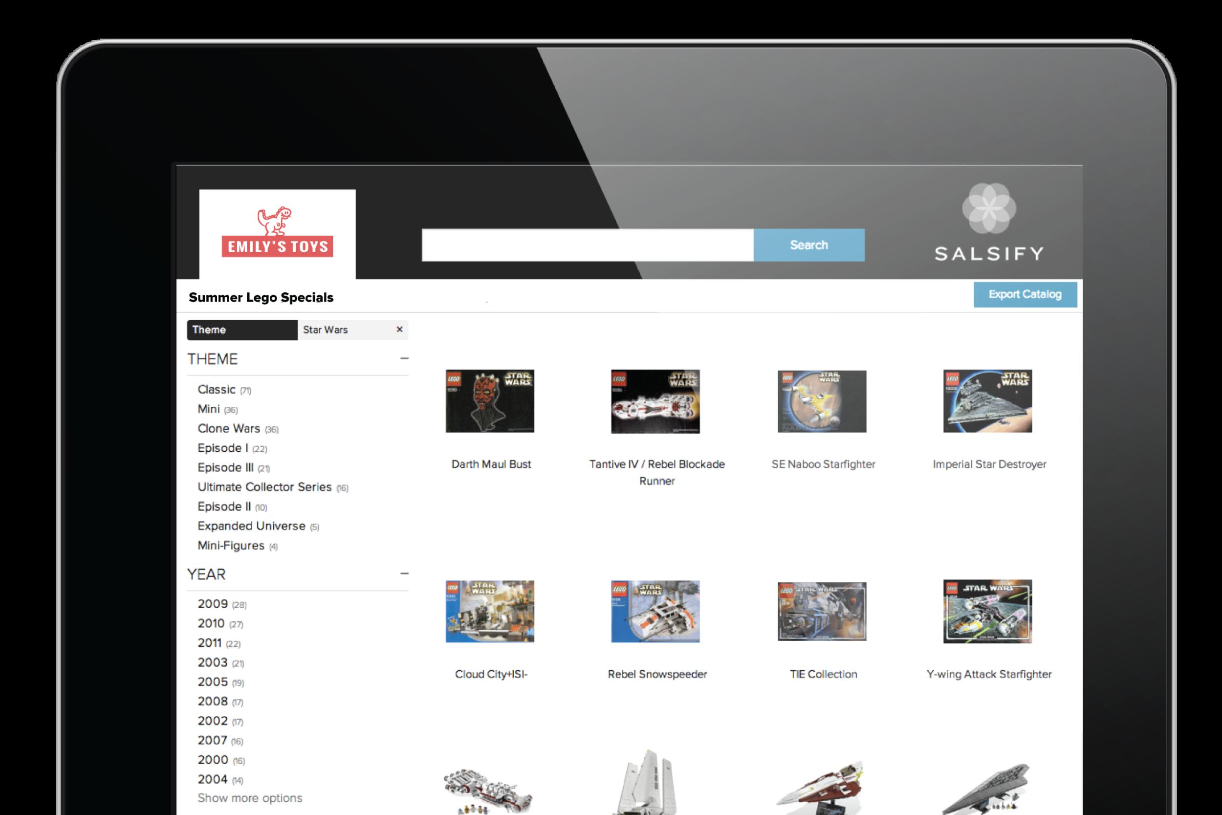 managing digital catalogs