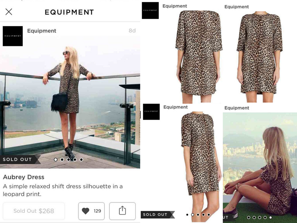 A product image pulled from fashion blog