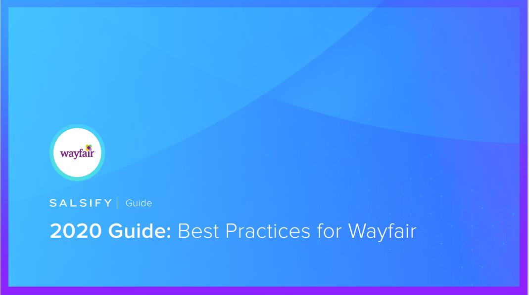 2020_GuideBestPracticesForWayfair_Cover