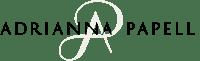 adrianna papell logo white