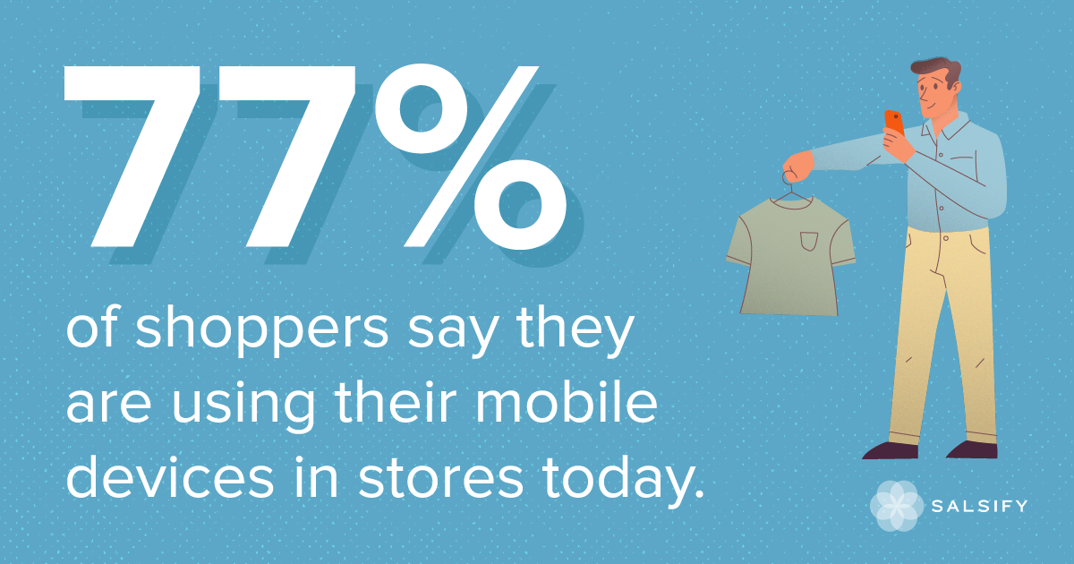 questions in-store mobile shoppers ask
