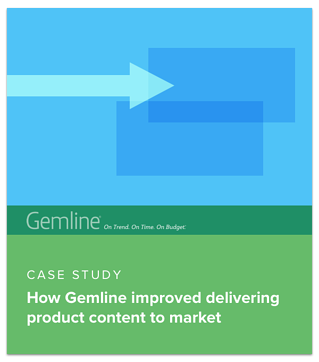 Gemline Improved its product content managerment