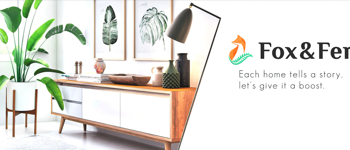 Fox & Fern Website Screenshot Salsify Home and Garden Manufacturers