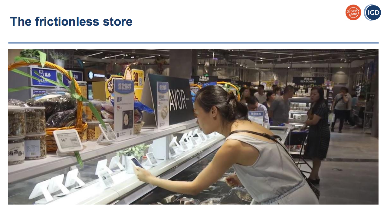 IGD Frictionless Store GroceryShop 2018