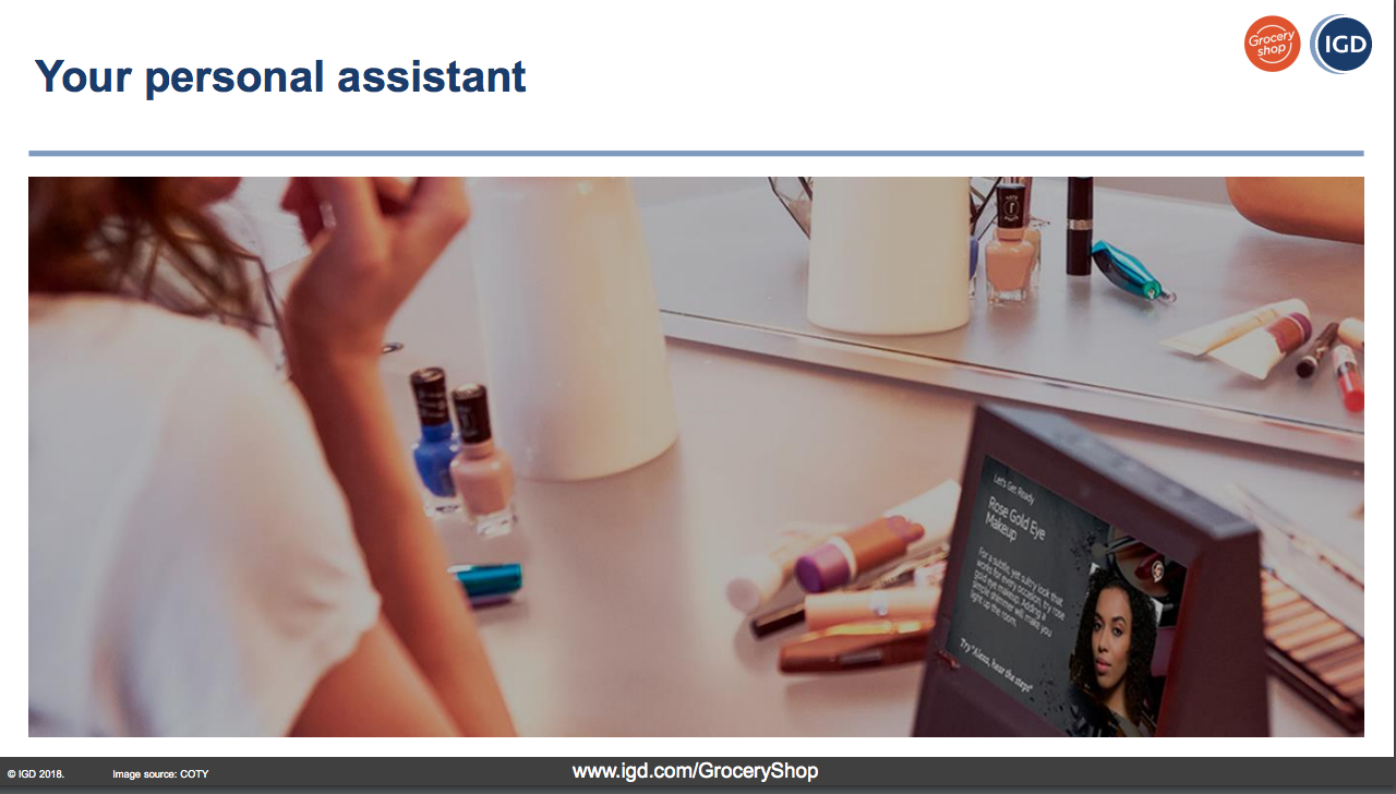 IGD Personal Assistant GroceryShop 2018
