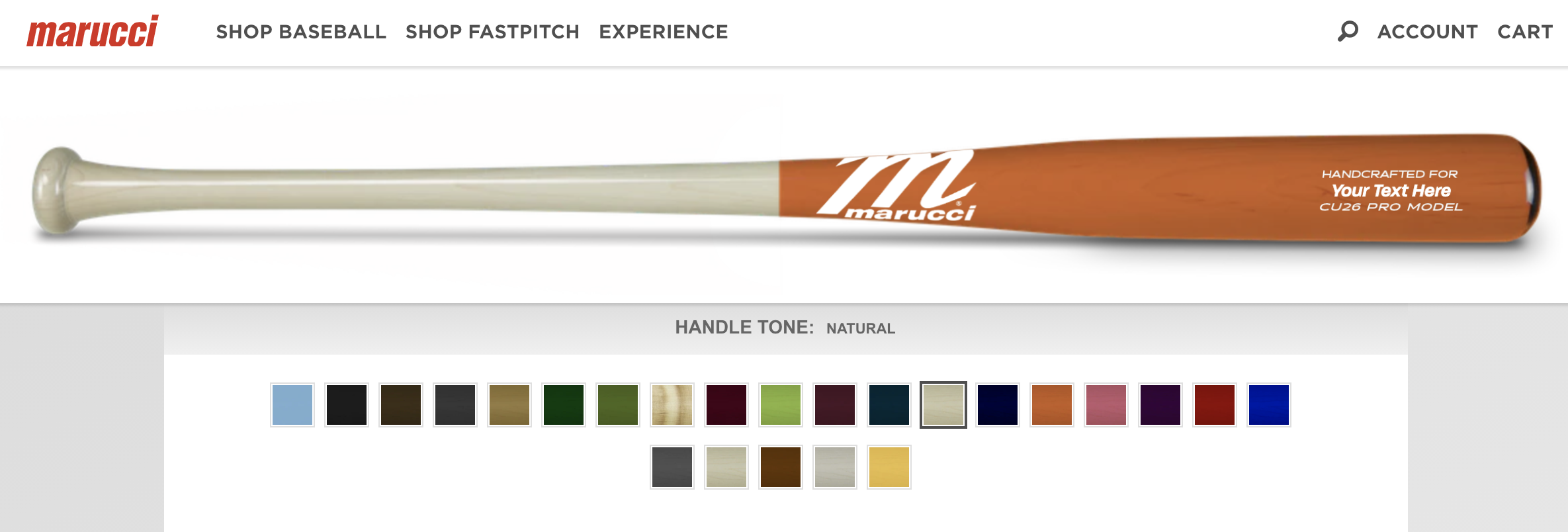 Marucci Sports D2C Example