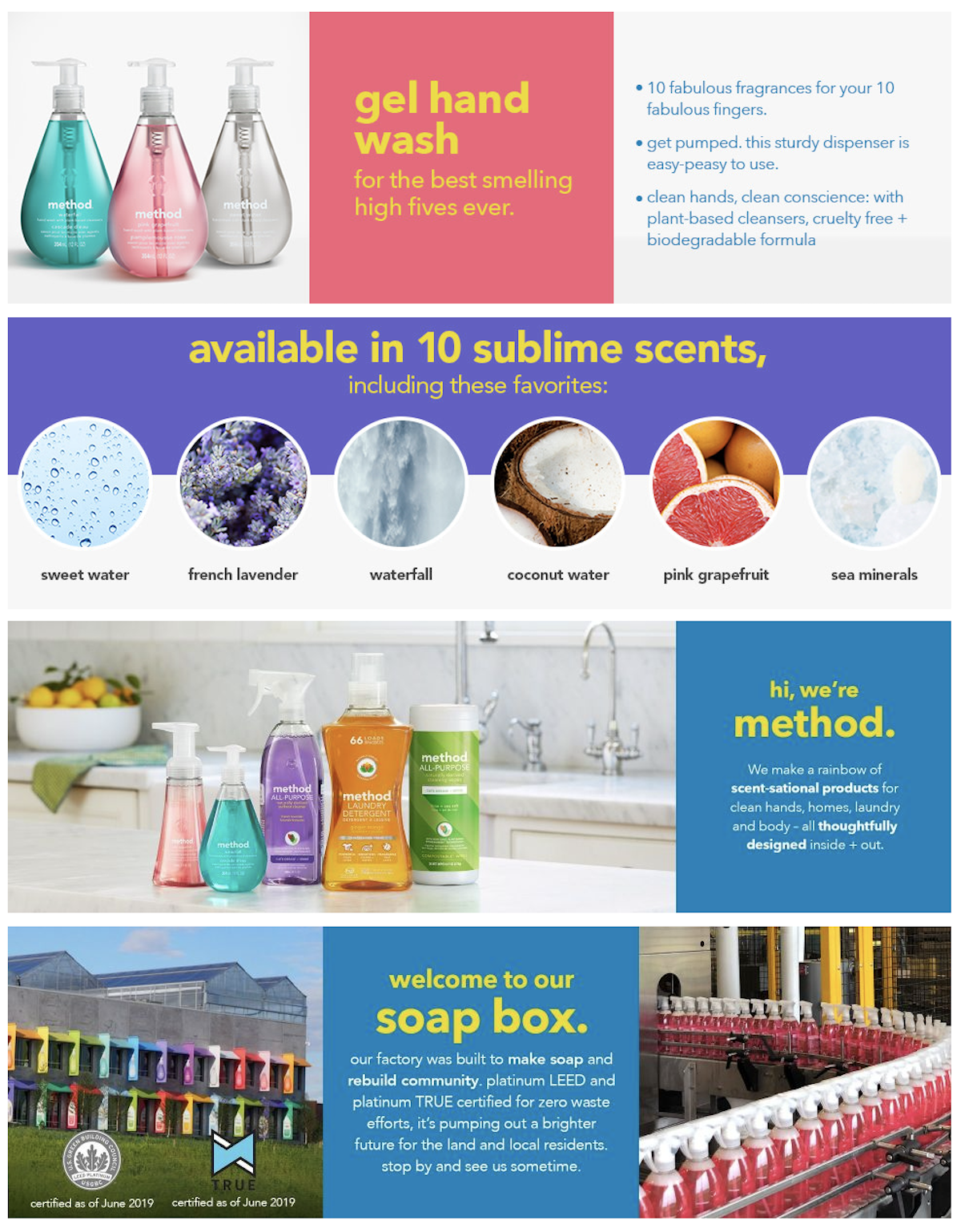 Method Hand Soap Walmart Rich Media Salsify Product Detail Page Examples