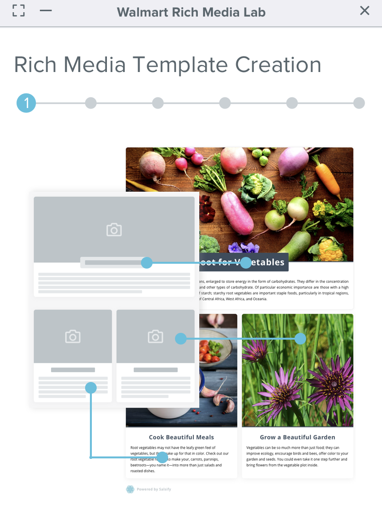 Salsify Rich Media Template Creator