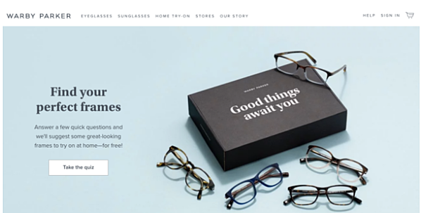 digital native vertical brands Warby Parker
