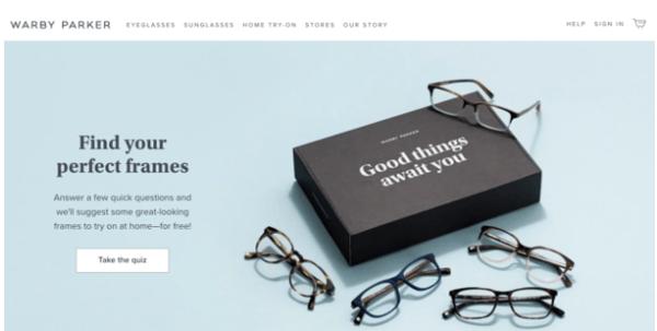 digital native vertical brands Warby Parker