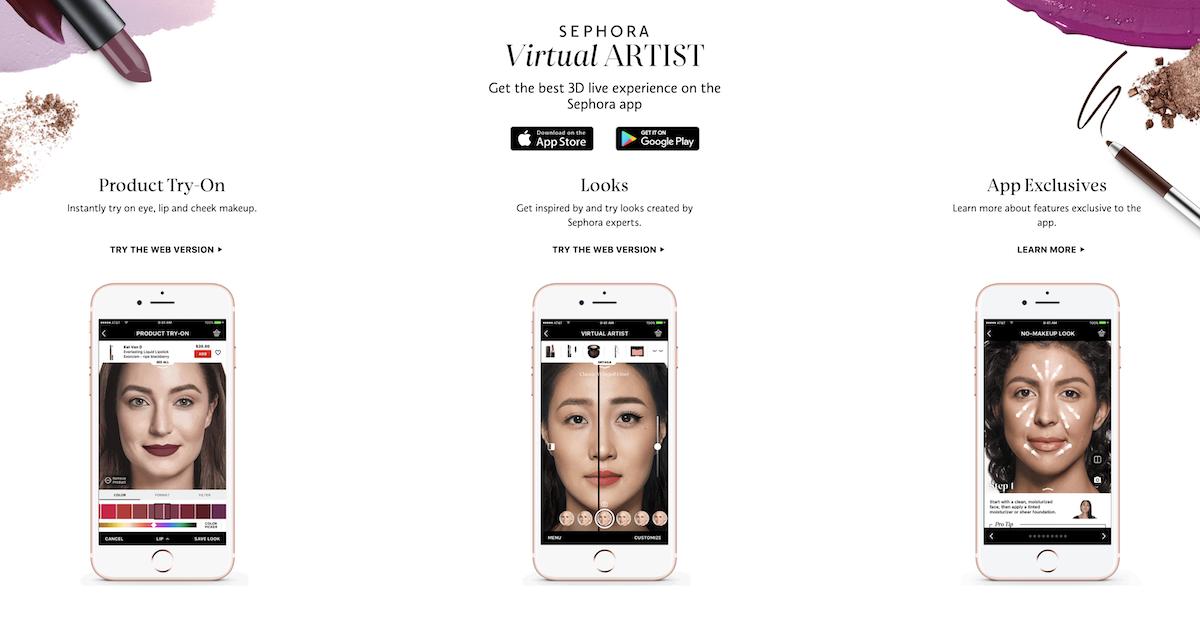 Sephora Visual Artist Website Page Salsify Ecommerce Trends 2020.jpg
