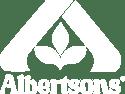 albertsons logo white