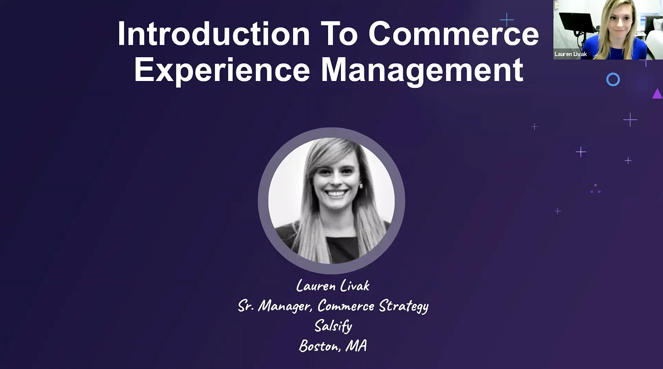Introduction to CommerceXM